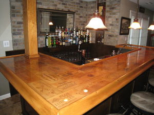 Epoxy Kleer Koat Table Top Epoxy